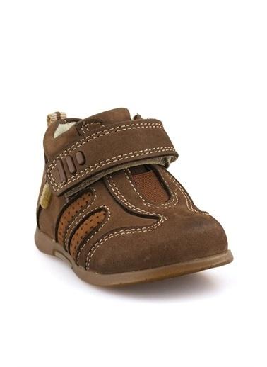Cici Bebe Ayakkabı Nubuk Erkek Çocuk Bot Kahve